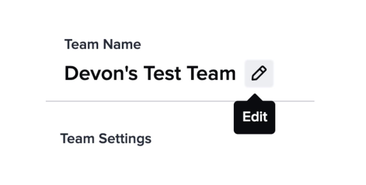 How to edit your Guru team name